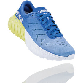 Hoka One One Mach 2 Running Shoes Dam palace blue/lime sherbet